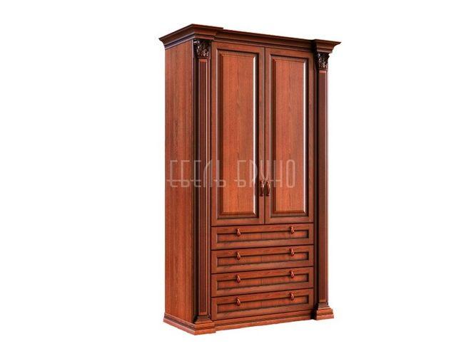Прямой шкаф Марио в классическом стиле