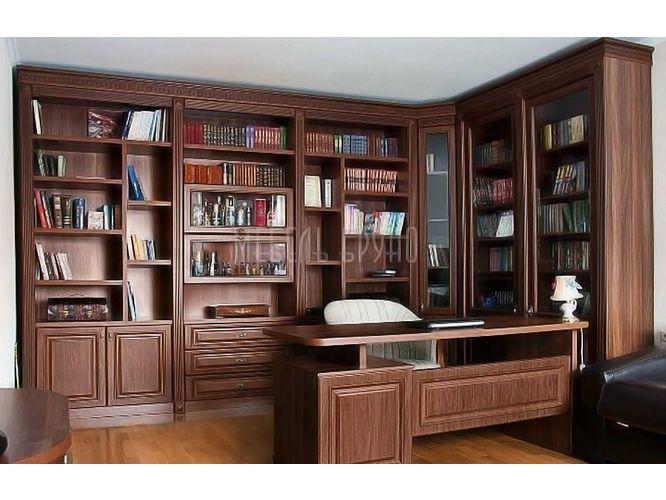 Угловая библиотека Кентавр в классическом стиле