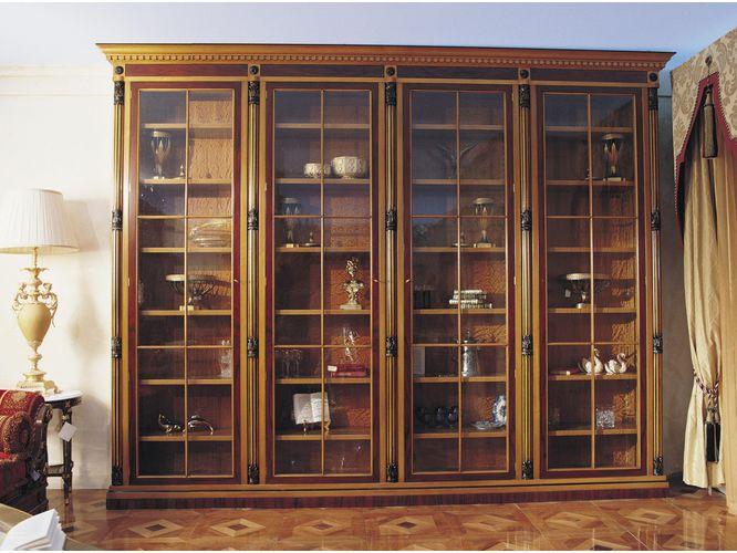 Книжный шкаф Арулен в классическом стиле