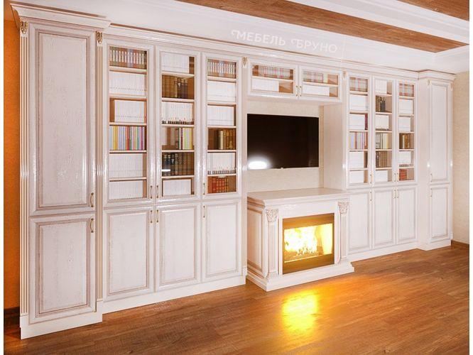 Библиотека Орвилл в классическом стиле