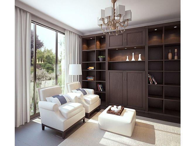 Прямая гостиная Эндшпиль в стиле модерн