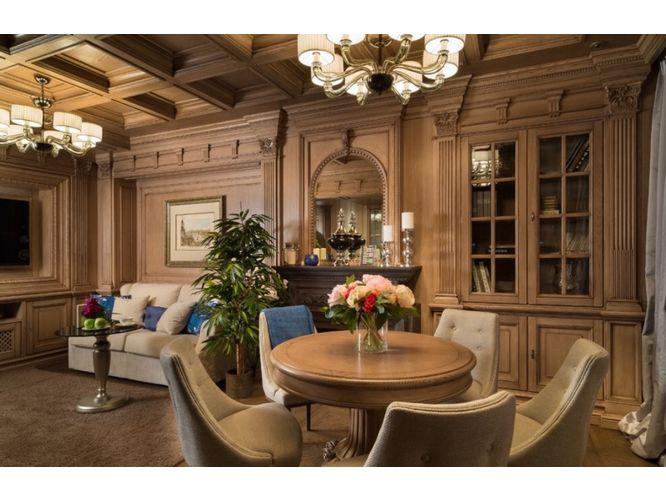 Встроенная угловая гостиная Трио в классическом стиле