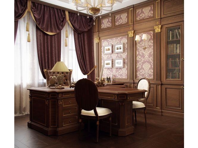 Кабинет Левкипп в классическом стиле