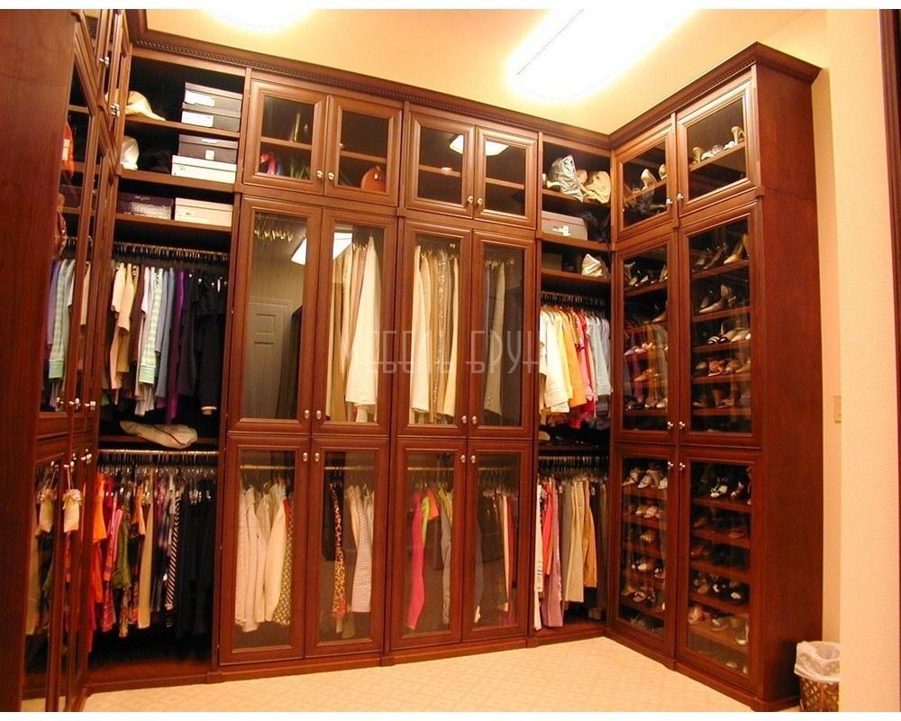 Угловая гардеробная Варна в классическом стиле