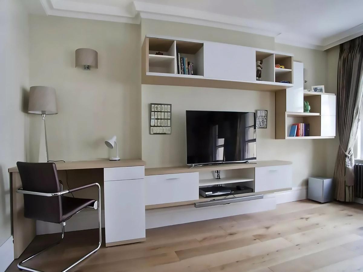 Прямая гостиная Рикко в стиле модерн