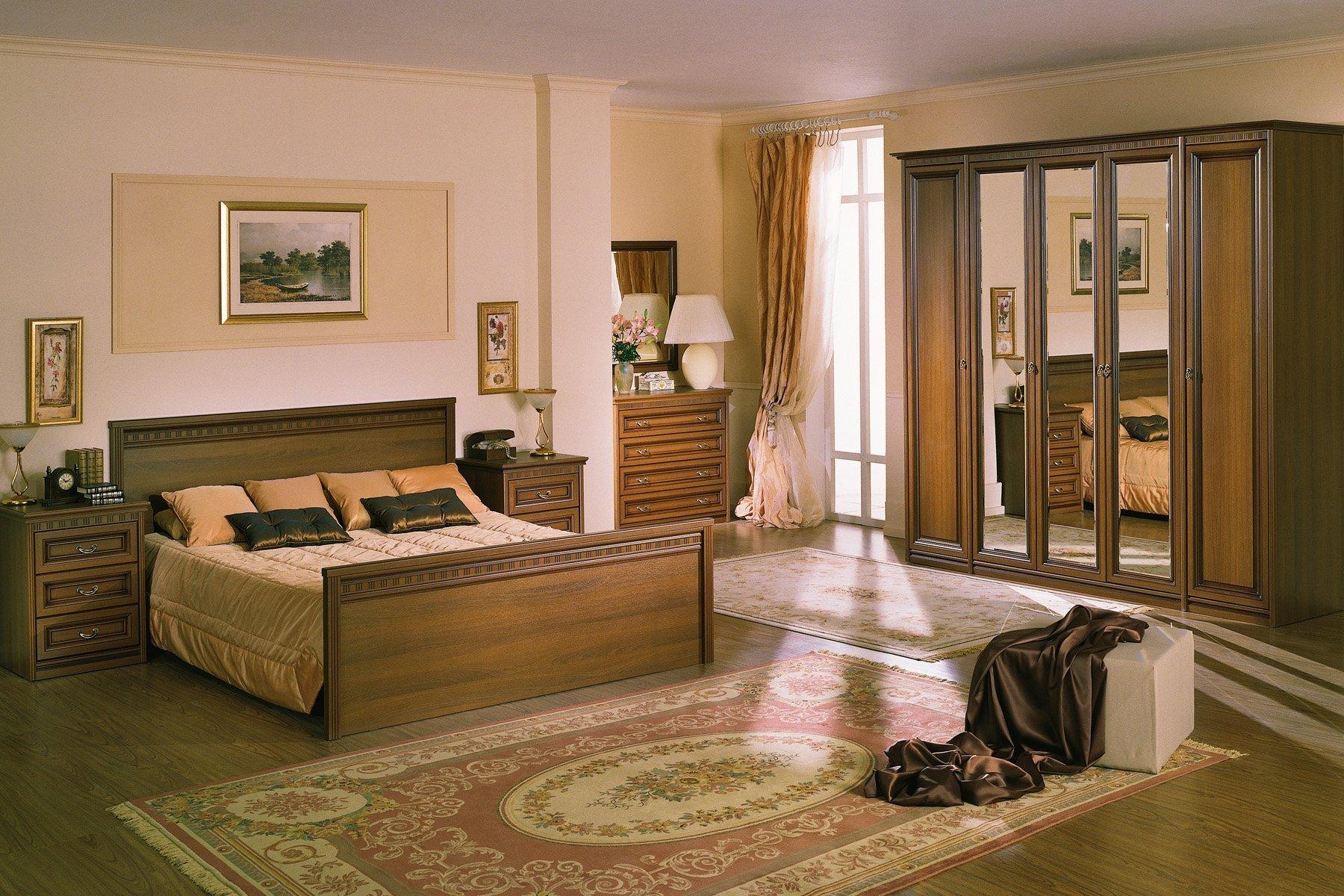 Спальня Мелани в английском стиле